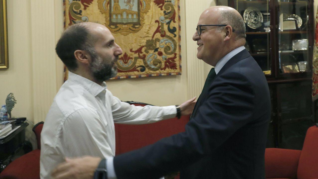 Gonzalo Pérez Jácome y José Manuel Baltar