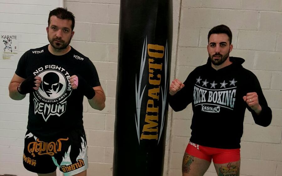 Carlos Castro y Marcos Reimóndez, impulsores del «Eo-Fighters».