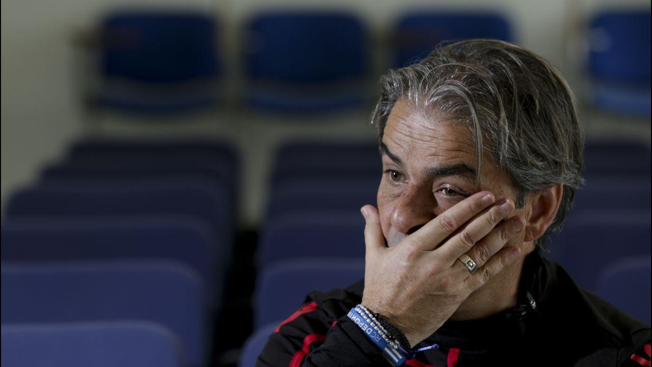 Natxo González no sabe cuándo podrá contar con los cuatro lesionados de la plantilla