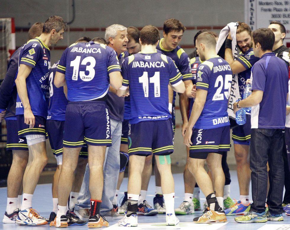 El Cangas disputará la vuelta del partido de la Copa EHF ante su afición.