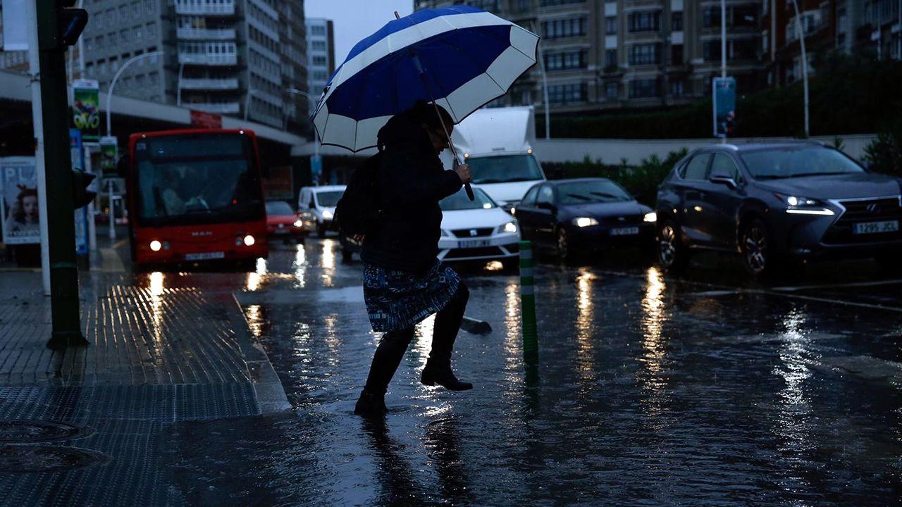 Así está afectando a Galicia el temporal