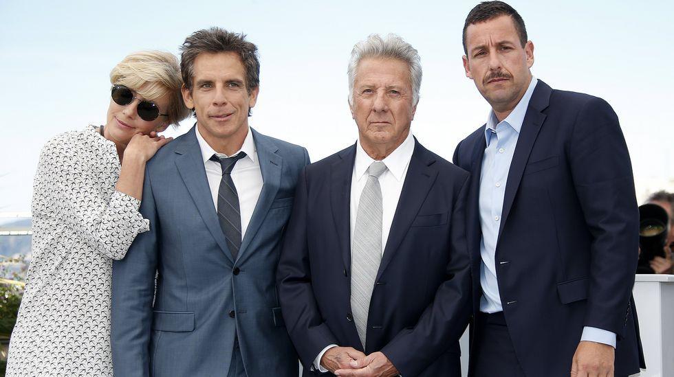 Dustin Hoffman se gana todas las simpatías en Cannes