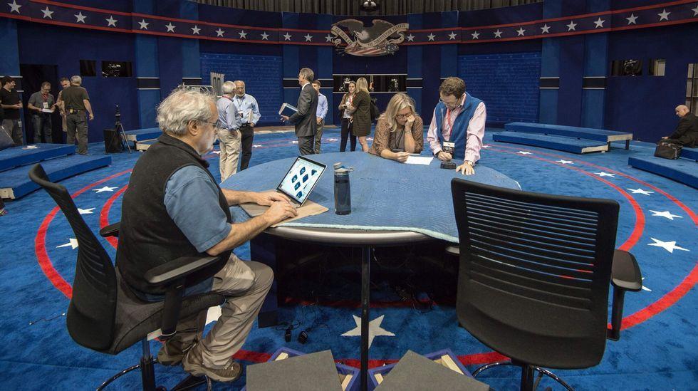 El escenario del segundo debate