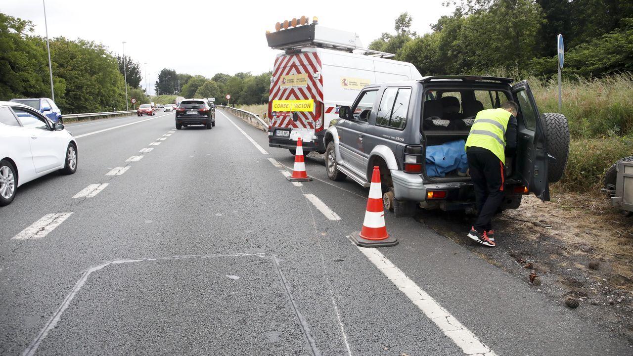 El suceso se produjo en el punto kilométrico 1.3 de la LU-530 que va de Lugo a A Fonsagrada