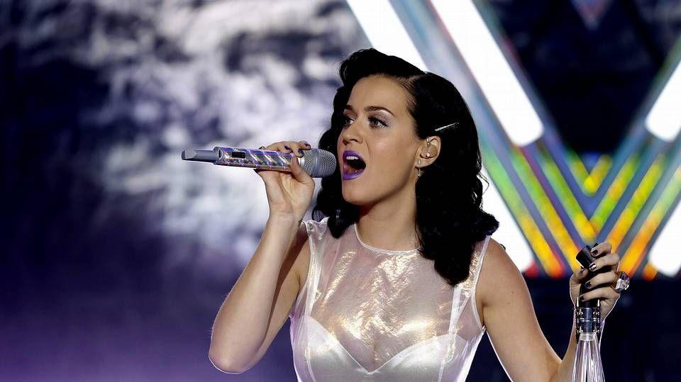 Anuncio de los MTV EMA 2013.La cantante Katy Perry
