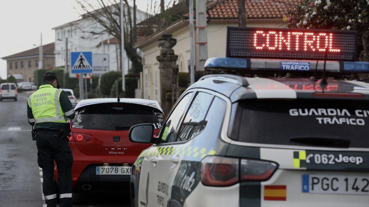 La Guardia Civil alterna estos días de Navidad los controles de tráfico con los de movilidad