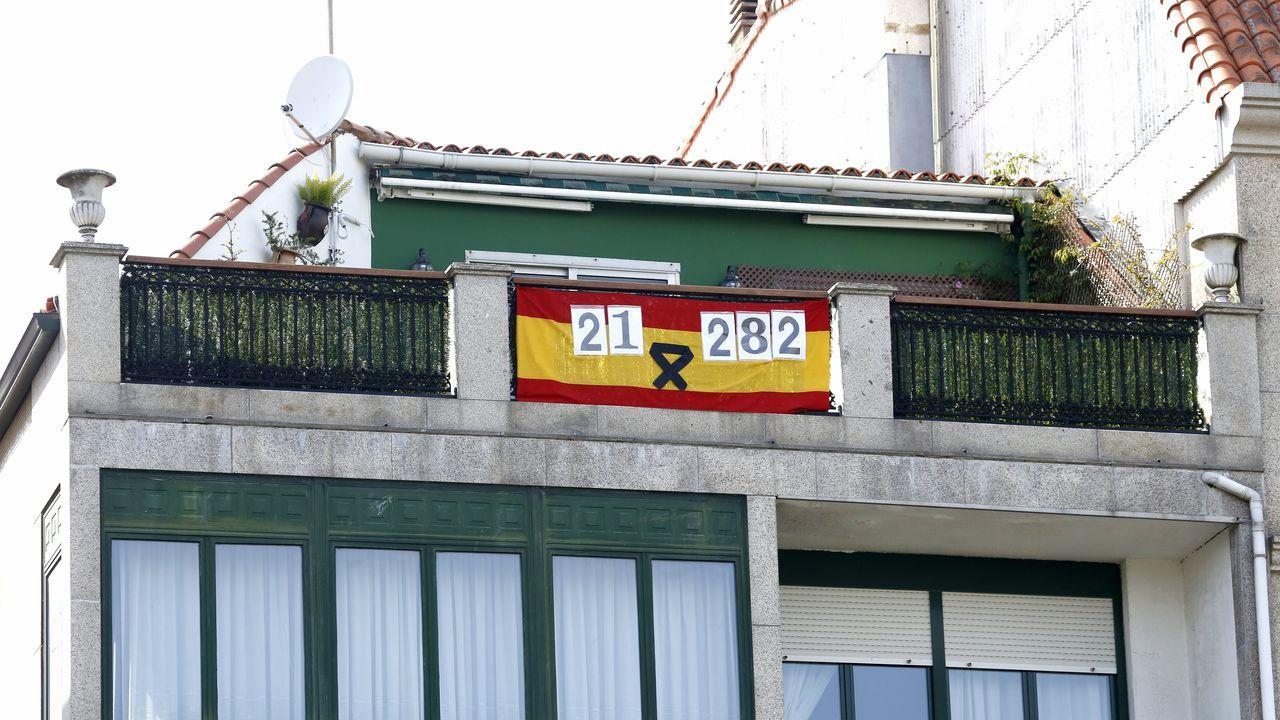 Chequeo en el Hospital del Barbanza.En el Hospital Comarcal da Barbanza, en la imagen, están ingresadas cinco personas