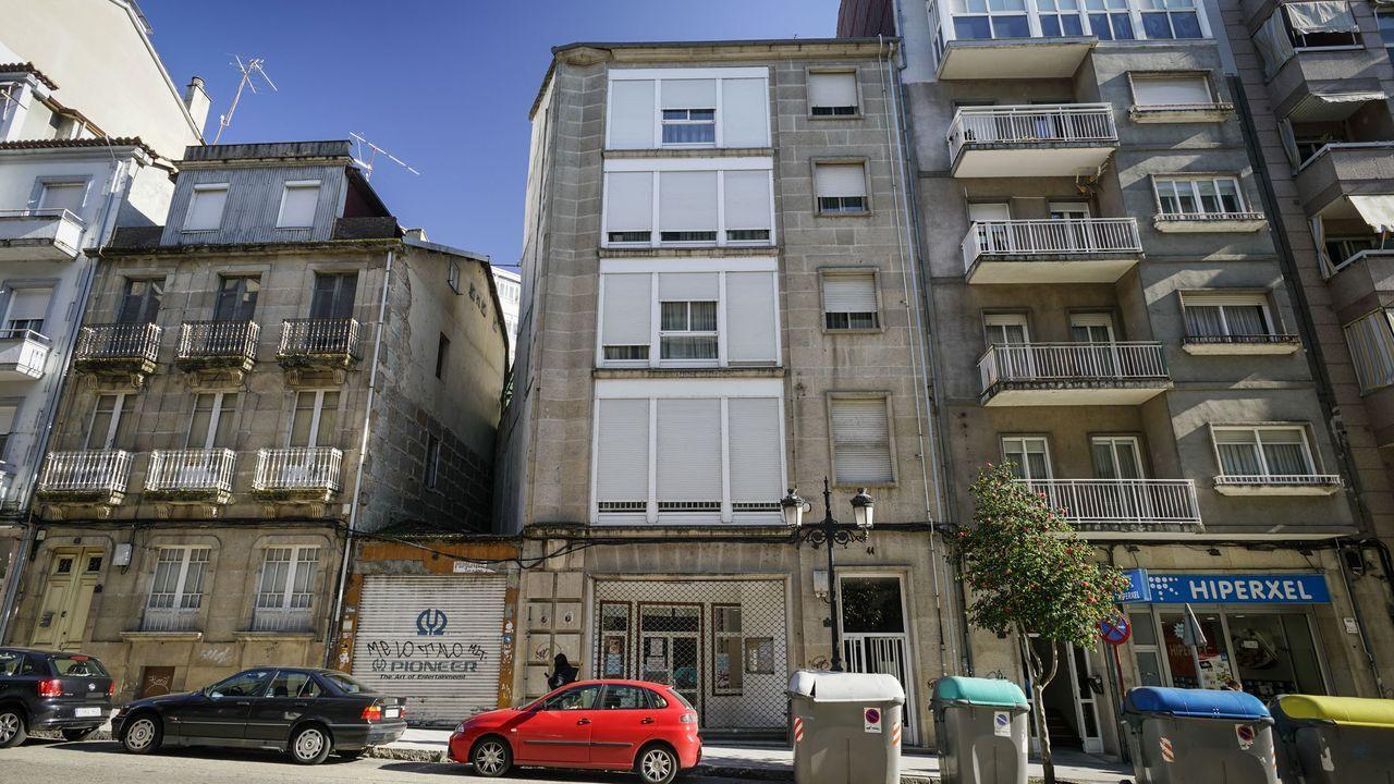 Edificio de viviendas en Ourense