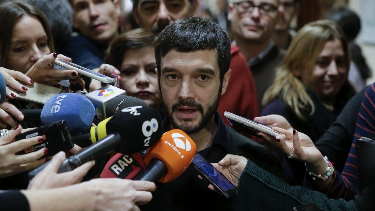 Pablo Bustinduy, retirado. Una de las figuras de mayor talento del partido, rechazó encabezar la lista europea y luego abandonó la dirección y la política