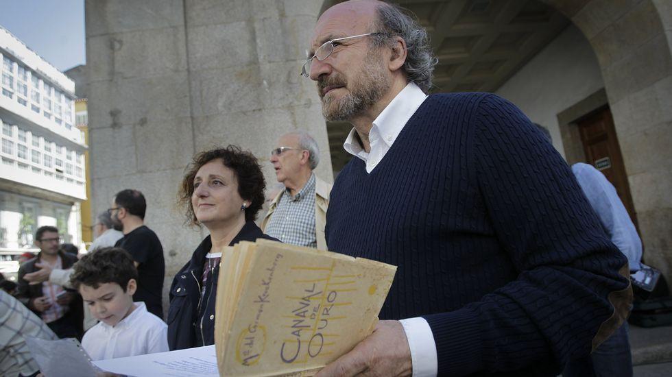 Acto en A Coruña.