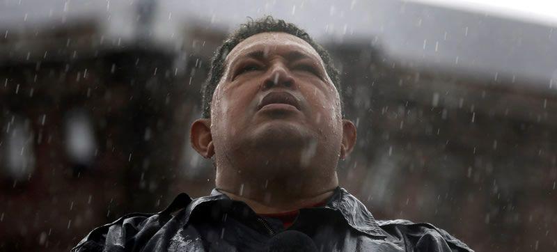 Hugo Chávez, en la campaña electoral de octubre
