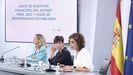 Nadia Calviño, Isabel Rodríguez y Mª Jesús Montero comparecen en rueda de prensa tras el Consejo de Ministros