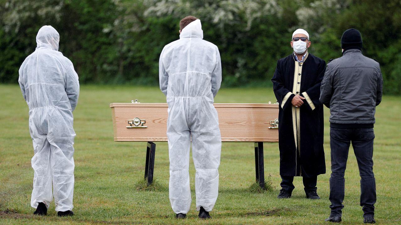 Los británicos, cuyo país es el que más fallecidos ha registrado en Europa, son los más preocupados por el virus
