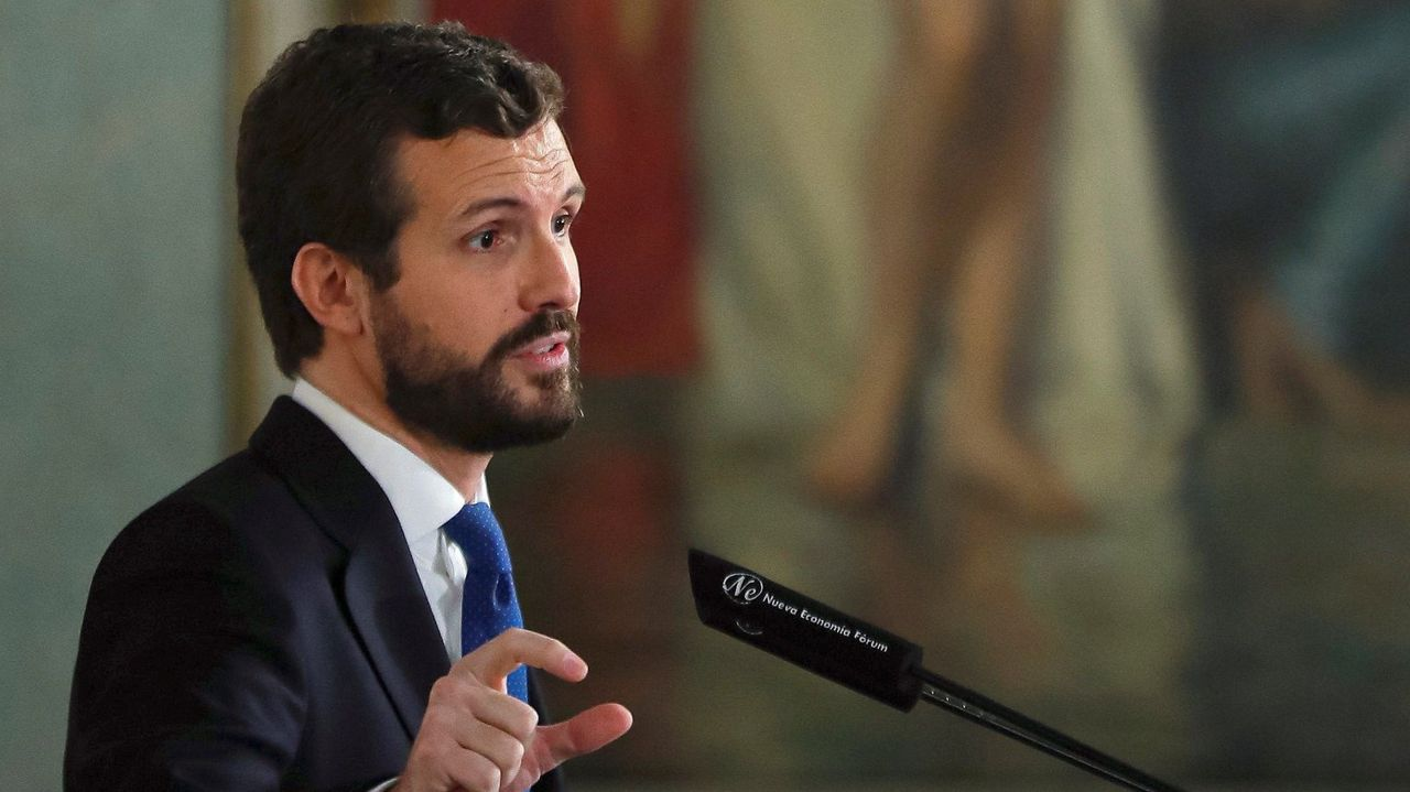 Pablo Casado reclamó ayer medidas para «fortalecer el Estado» y reformar el proceso de tramitación de euroórdenes