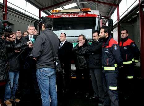 El vicepresidente Alfonso Rueda visitó las instalaciones a principios de año.