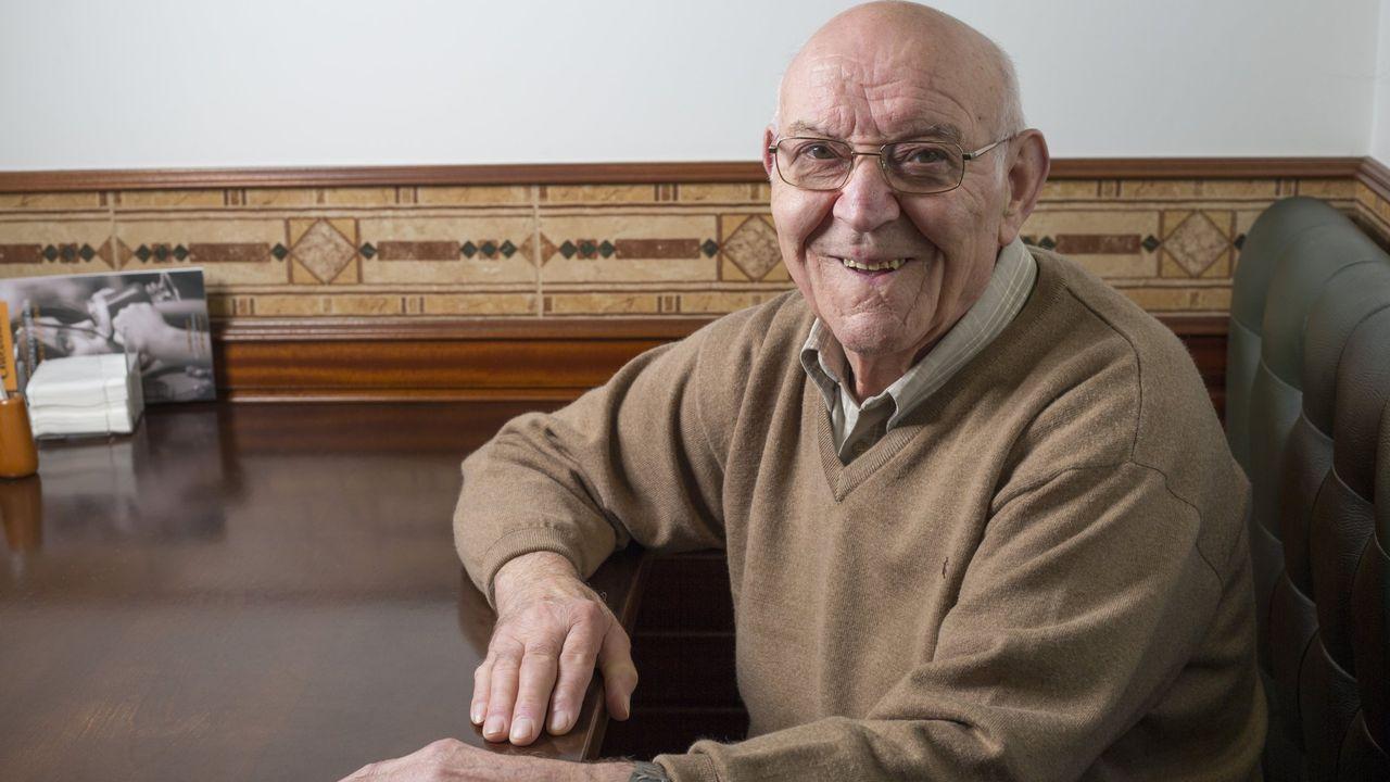 Manuel Gómez Fondo, fallecido el martes en Carballo