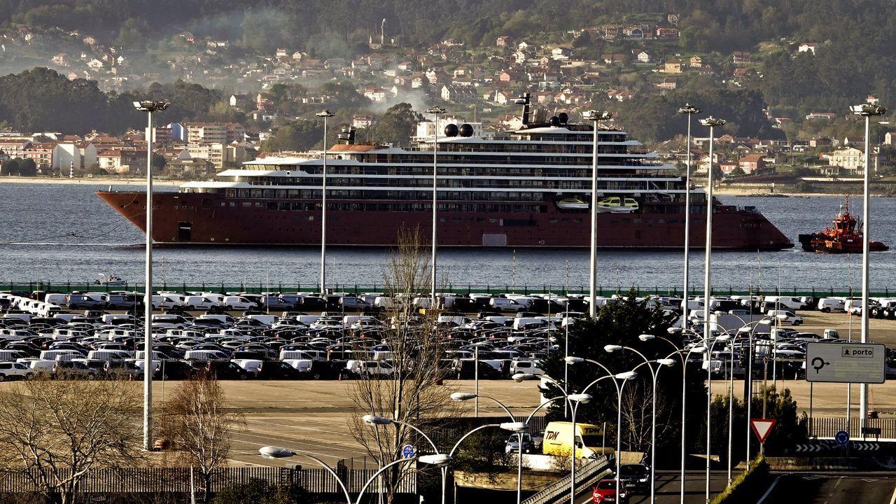 El buque Diego Ramírez