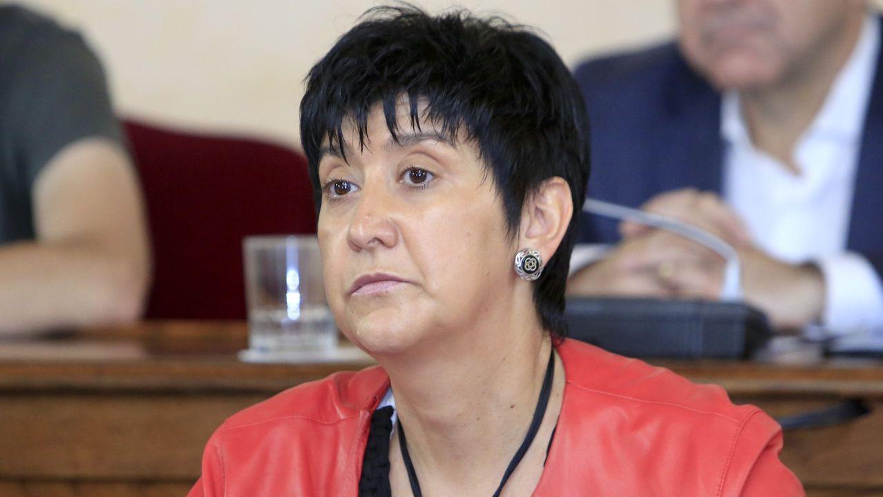 Concelleira de Servizos Sociais, Olga López Rocamonde