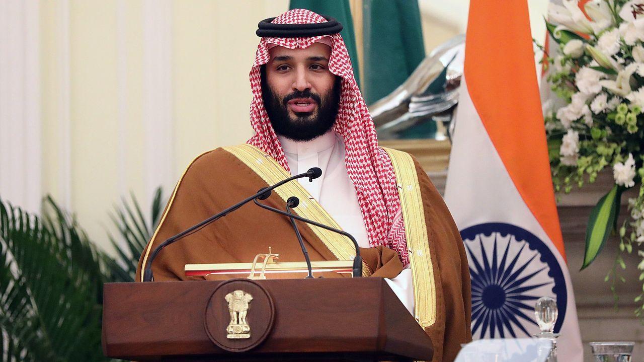 El príncipe heredero saudí, Mohamed bin Salman