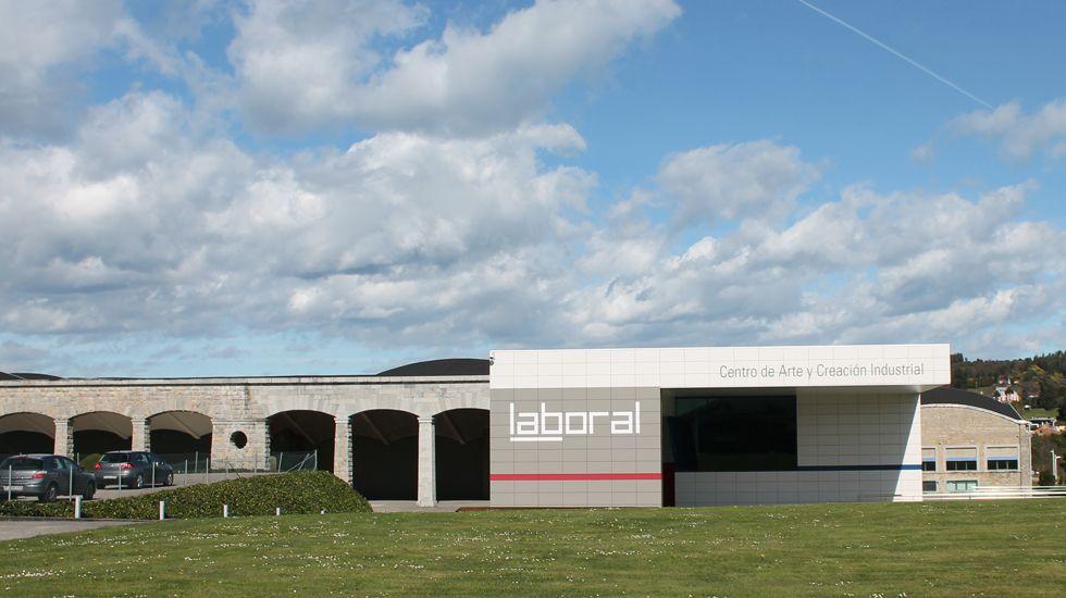 Laboral Centro de Arte y Creación Industrial, en Gijón