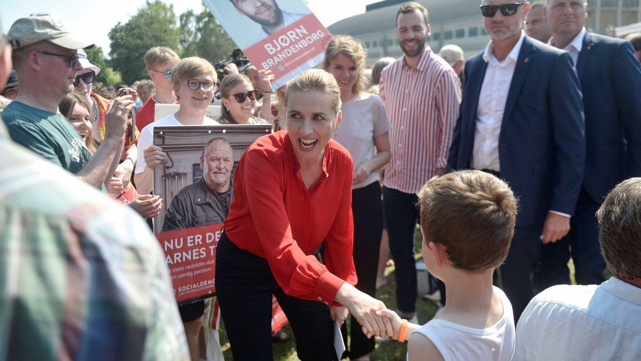 Los sondeos a pie de urna dan la victoria a la socialdemócrata Mette Frederiksen