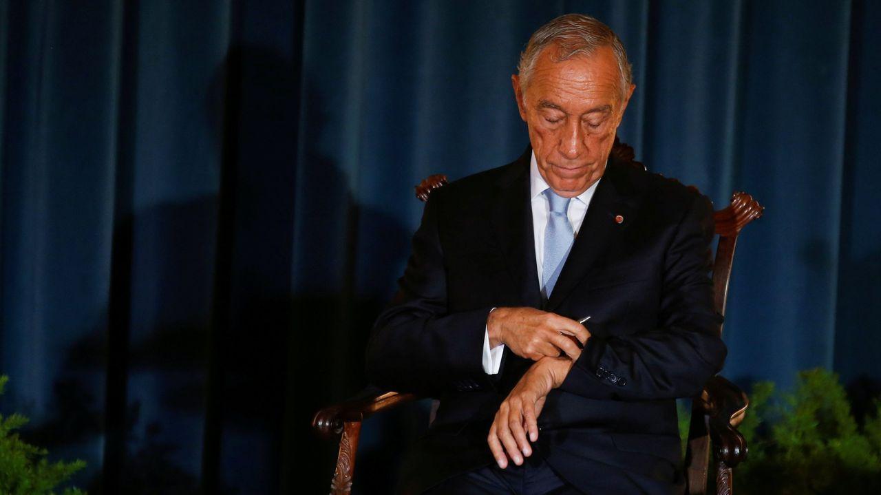 Fernando Miramontes, una vida de política y lucha obrera.El presidente de Portugal, Marcelo Rebelo de Sousa