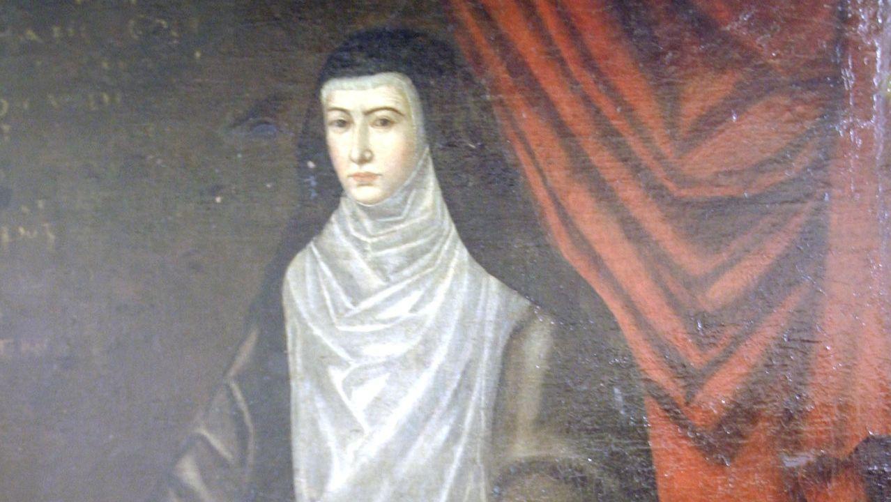 En el Museo de Arte Sacro se conserva un retrato que muestra a Catalina de la Cerda después de convertirse en monxa