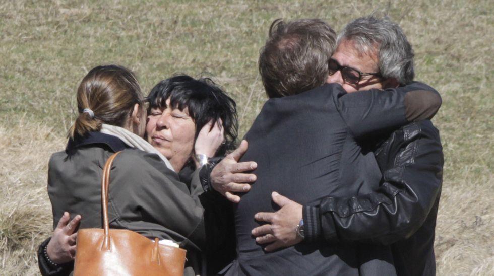 Le Vernet volvió a ser escenario de abrazos y lágrimas.