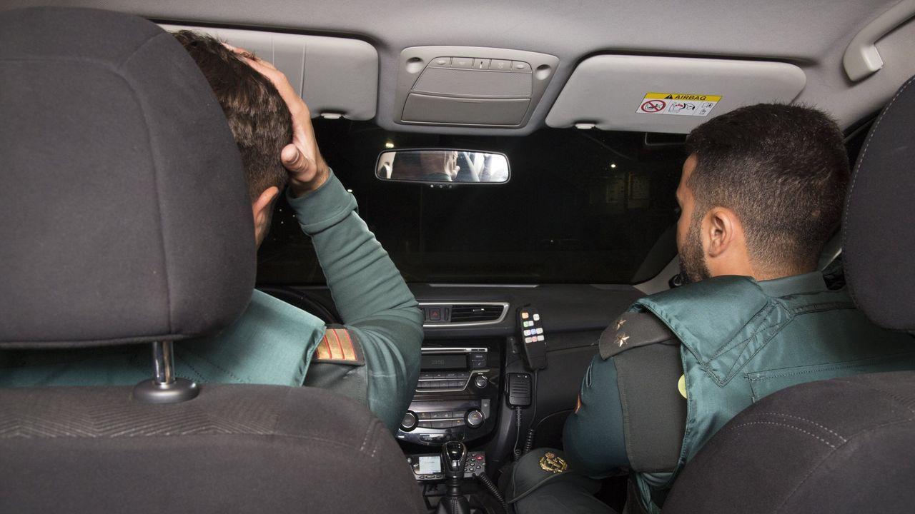 Muchos de los expedientes de revisión se inician tras una infracción en la carretera detectada por la Guardia Civil
