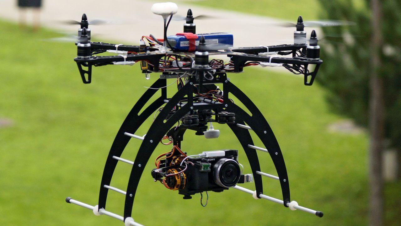 Así es el dron de Boeing capaz de levantar 200 kilos de peso.Día Emprendedor en Santiago