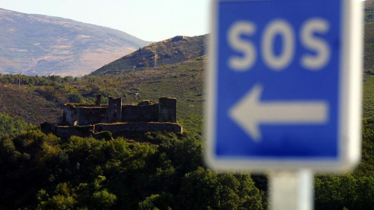 Castillo de Sarracín, en Vega de Valcarce