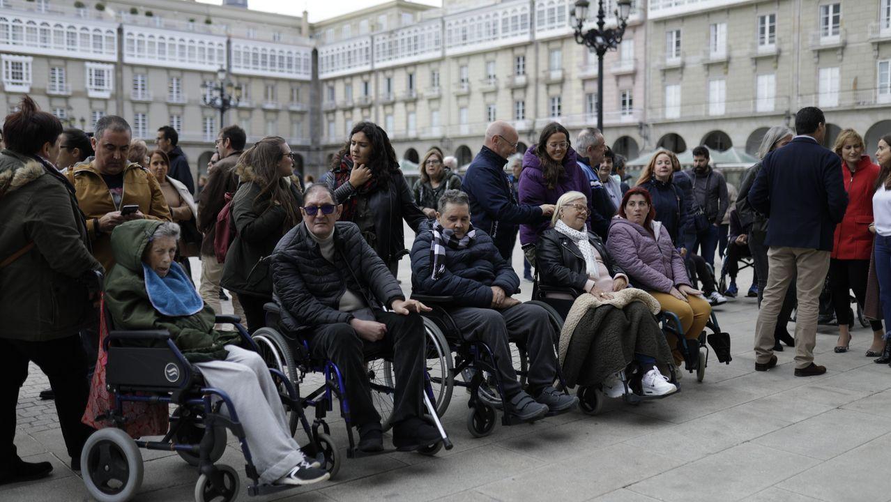 Concentración por Día del Daño Cerebral en María Pita