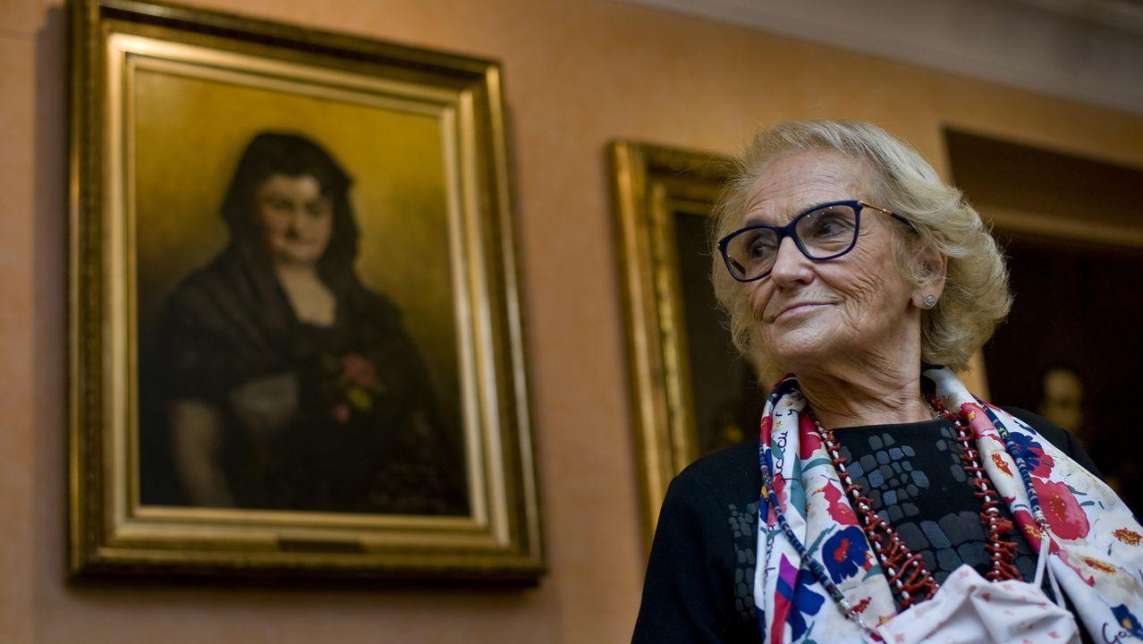 Carmen Colmeiro es la condesa de Pardo Bazán