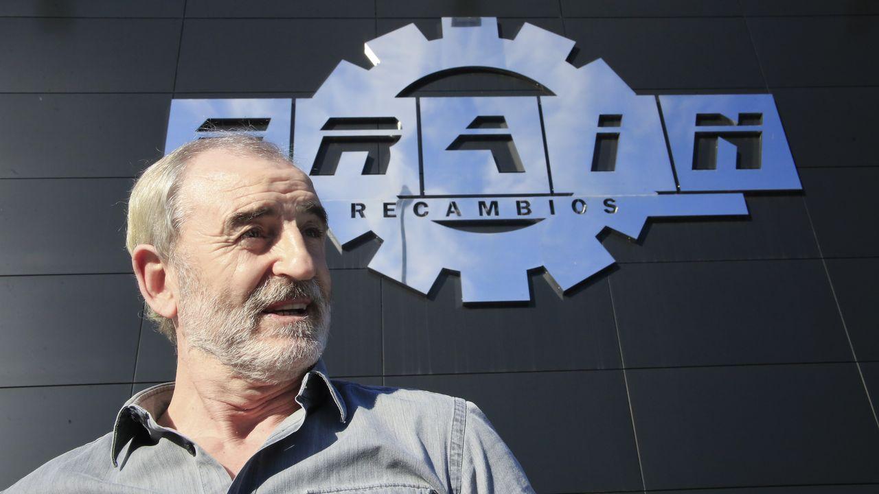 Francisco Dorado fundó Recambios Frain hace 28 años, y hoy factura 37 millones de euros