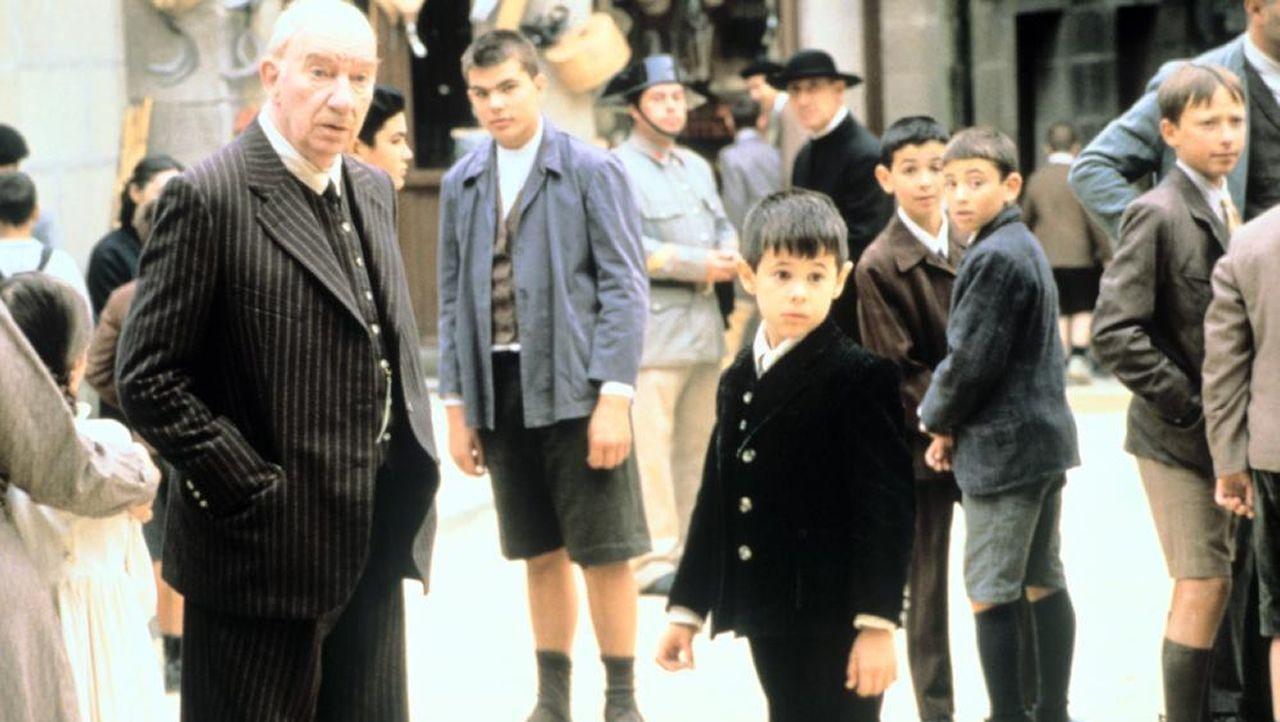 La plaza de la Leña, protagonista en la película.Una visita guiada al barrio monfortino de San Vicente durante la celebración del Día Europeo de la Cultura Judía, en una imagen de archivo
