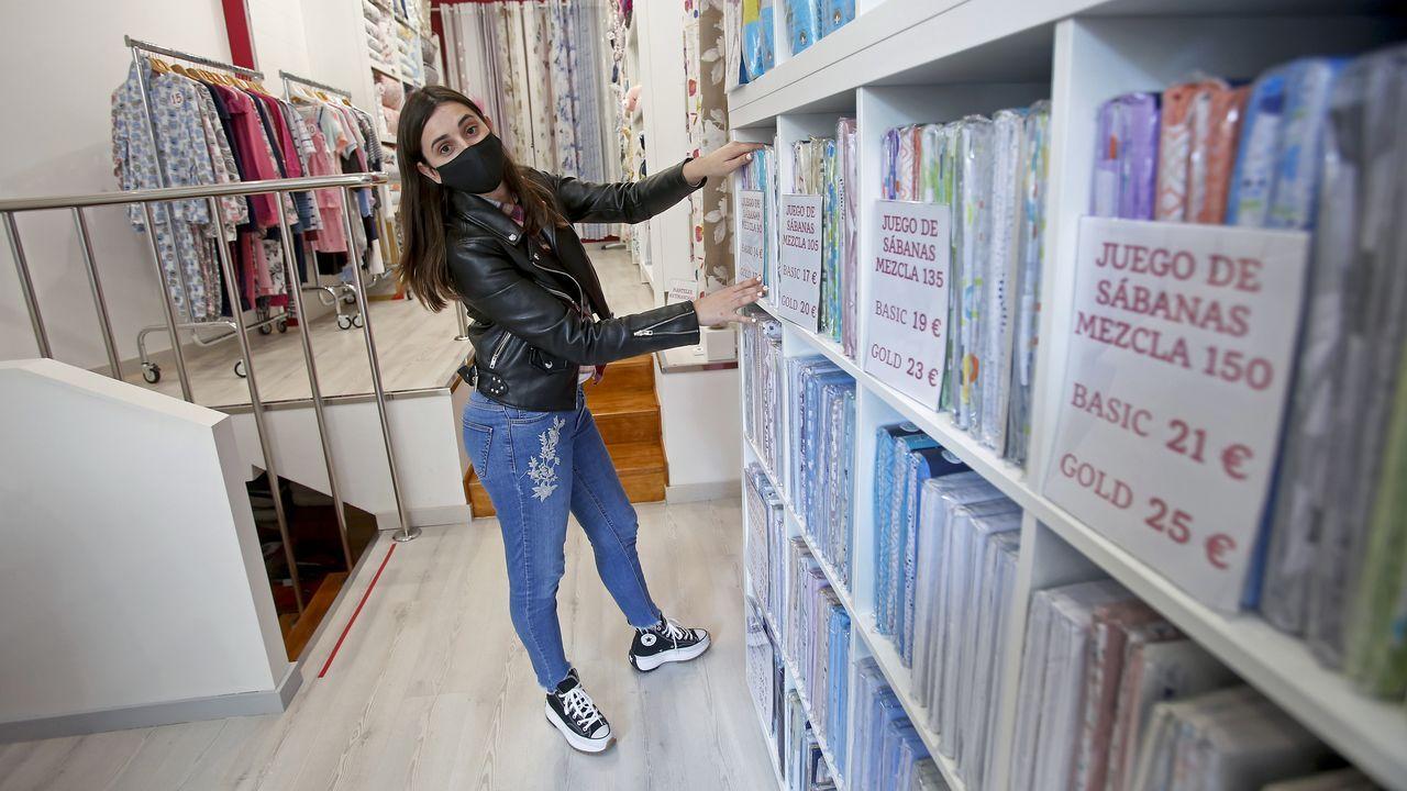 El milagro de los comercios que resisten a pesar del Covid.Laura Pombo iba a inaugurar su tienda dos días antes de declararse el estado de alarma