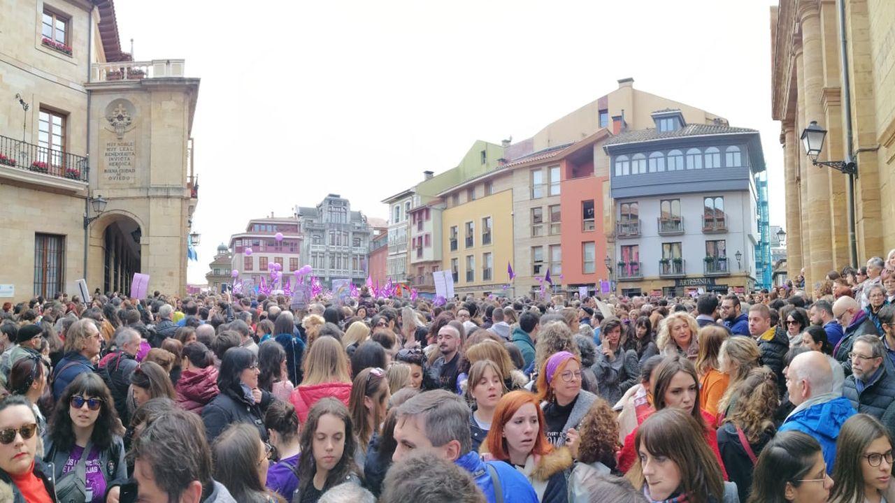 Concentración del 8-M en Oviedo