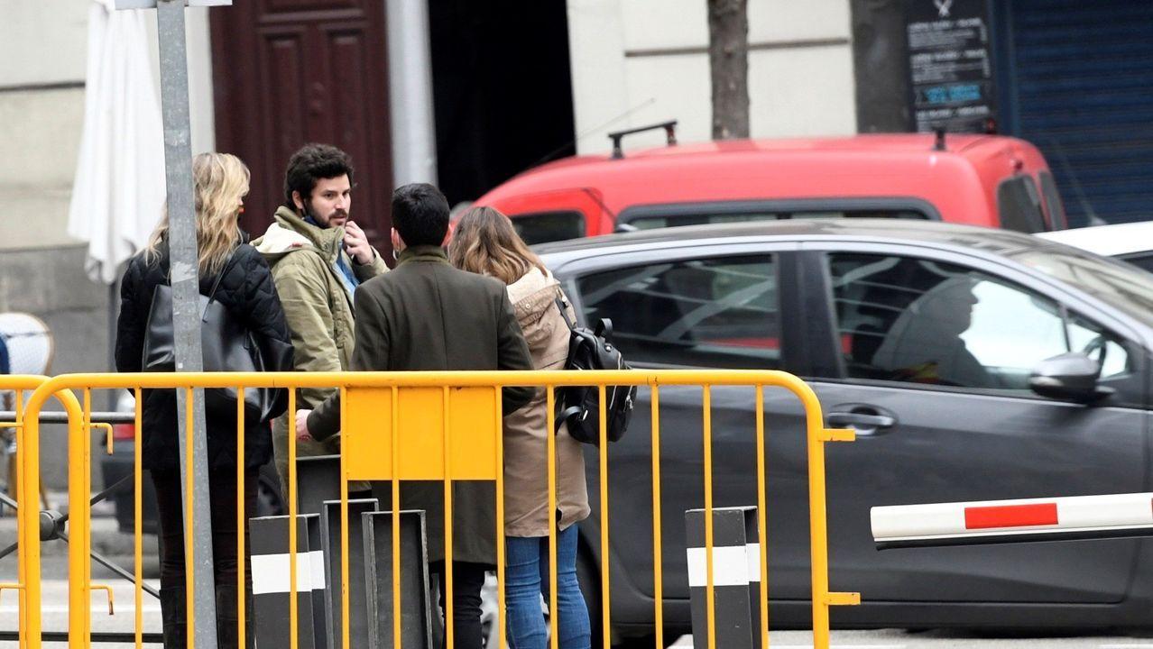 Sede del PP en la calle Génova de Madrid.Guillermo Bárcenas acudió hoy a la Audiencia Nacional para declarar ante el juez