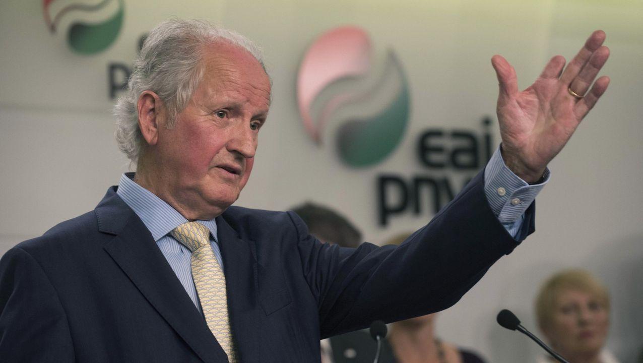 El expresidente del Parlamento vasco, Juan María Atutxa