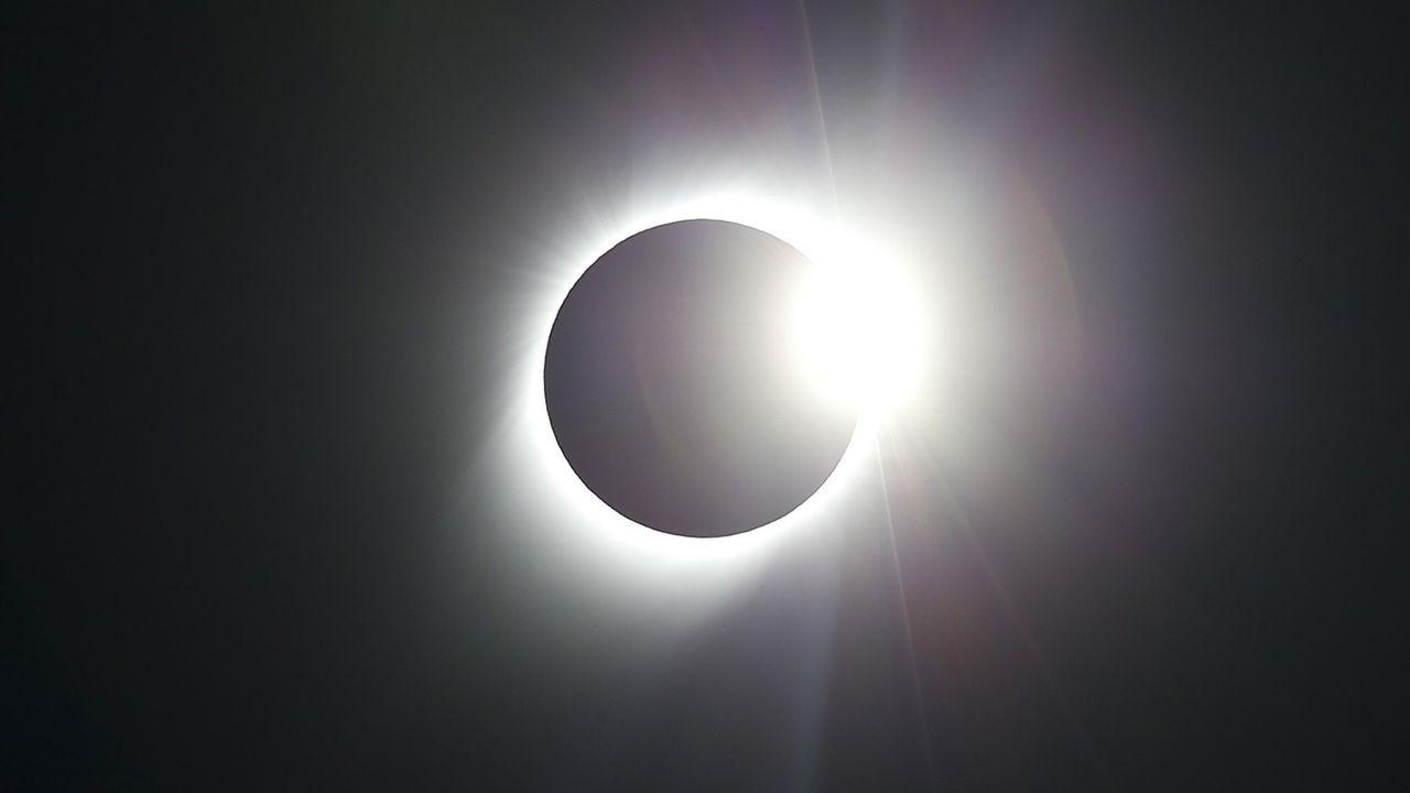 Así se vio el eclipse solartotal