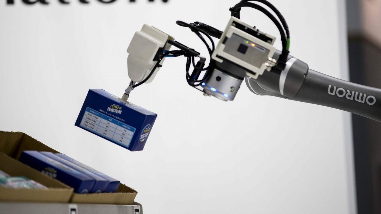 Así es el dron de Boeing capaz de levantar 200 kilos de peso.Coren es una de las compañías presentes en el evento