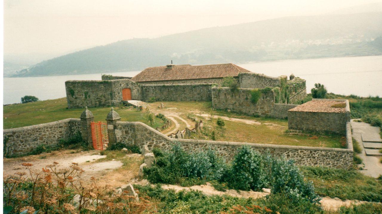 Imagen de archivo de unas cabañas en Lires