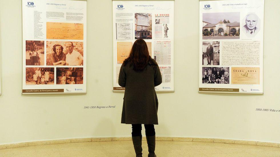 En Ferrol hubo hace unos años otra exposición sobre la vida y obra de Carballo Calero