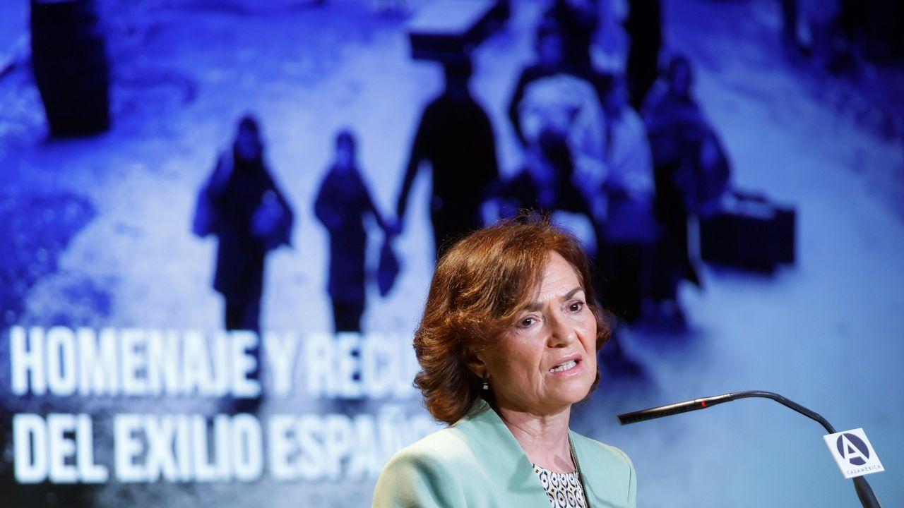 Calvo insiste en rechazar el plan B jurídico del PP: «Este Gobierno no quiere nada en B»