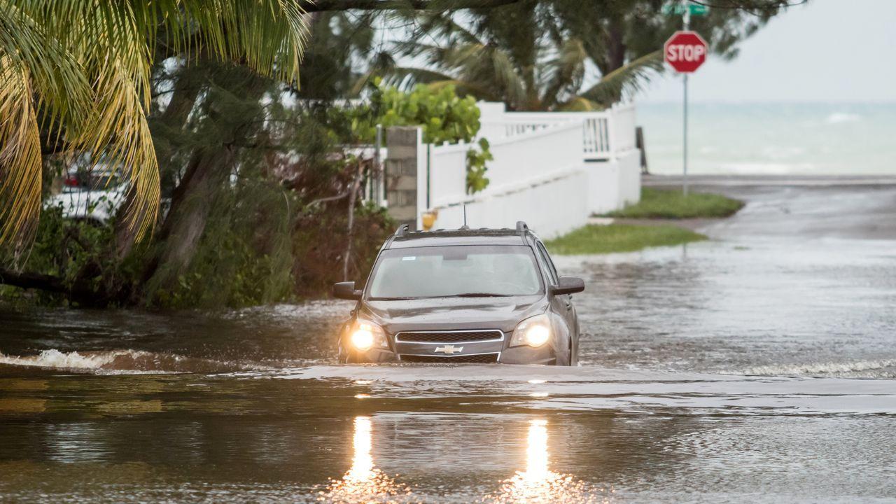 Efectos del ciclón Dorian por Bahamas