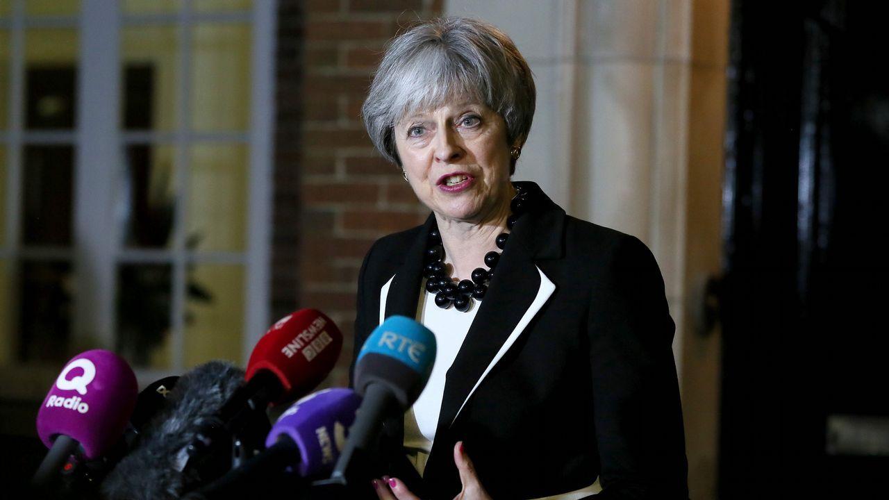 El Reino Unido celebra el centenario del voto femenino.Una mujer votando en 1918