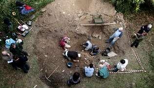 Excavación de una fosa