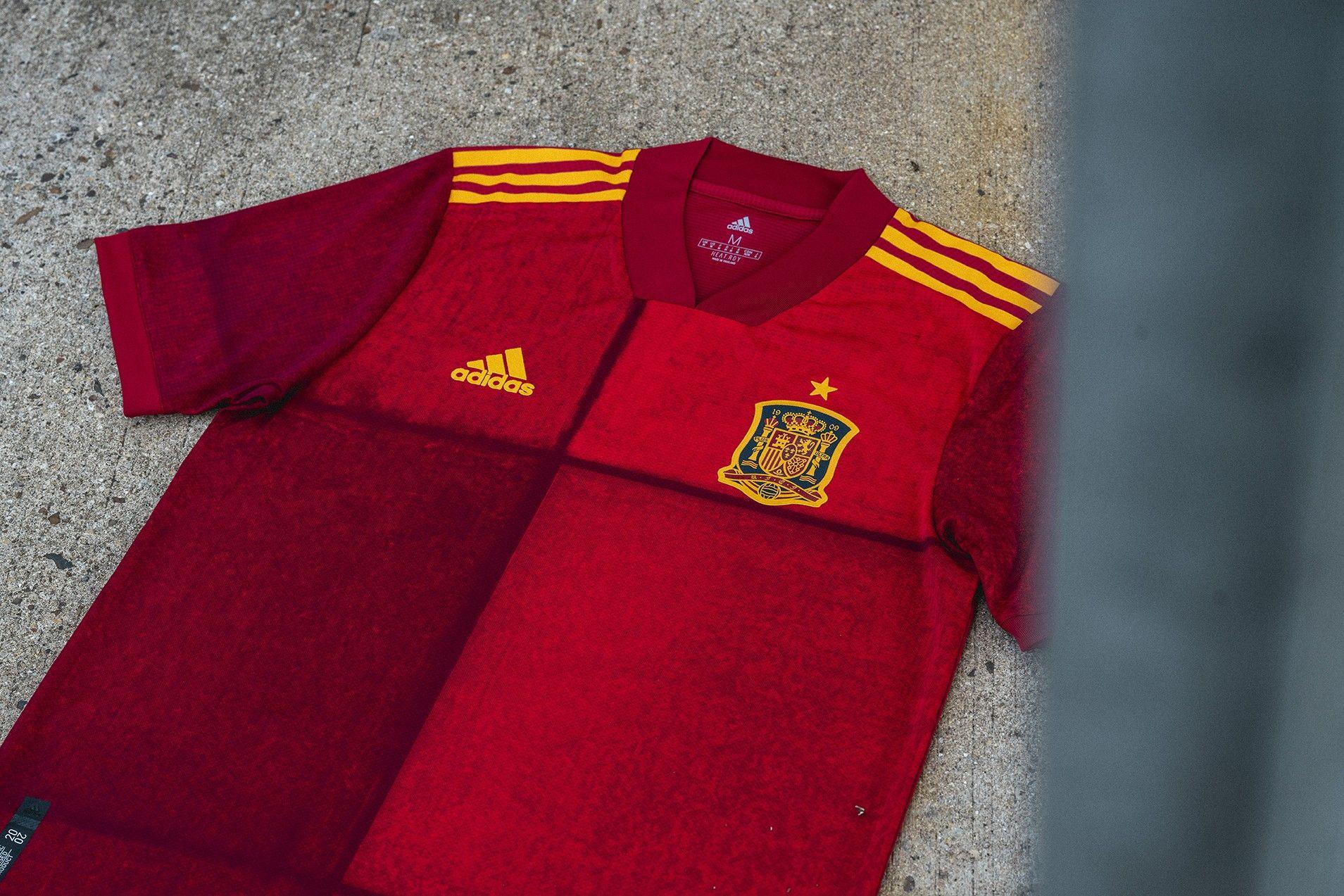 Camiseta de la selección española para la Euro 2020