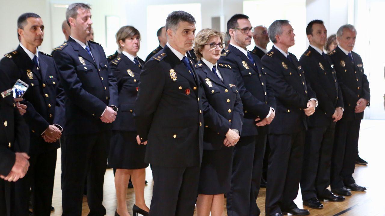 196 aniversario de la policía en Vigo.Imagen de archivo de la Policía Local