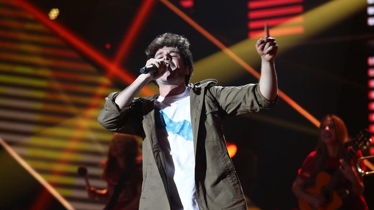 «La venda» representará a España en Eurovisión.María cantando «Múerdeme»  en la Gala Eurovisión 2019